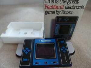 PAC MAN 2 ENTEX VINTAGE BOXED GAME 1981