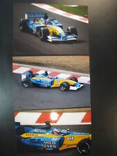Photo Mild Seven Renault R202 2002 #15 Jenson Button (GBR) GP Belgium 3x