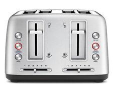 Breville LTA670 4 Slice Wide-Slot Toaster - Silver