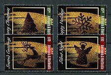 Antigua & Barbuda 2016 MNH Christmas Trees Angels Deer 4v Set Stamps