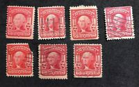 us stamps Scott 319 Various Types Mint/Used Lot 3