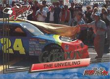 1993 Wheels Rookie Thunder Platinum Parallel Jeff Gordon #62 The Unveling