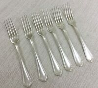 Christofle Spatours Large Table Forks Silver Plated Cutlery Silverware 21.5cm
