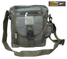 Mens Shoulder Army Military Combat Man Day Bag Travel Pack Surplus Green New