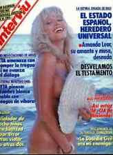 AMANDA LEAR Salvador DALI spanish magazine