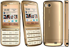 Nokia C3-01 - Gold Mobile Phone RARE
