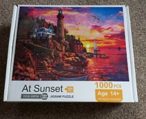 1000 PIECE JIGSAW PUZZLE, AT SUNSET