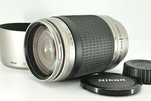 """ Near Mint "" Nikon AF Nikkor 70-300mm f4-5.6G Telephoto Lens w/ Hood from Japan"
