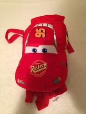 Cars the Movie RUST EZE Pillow & Backpack Plush *EUC*