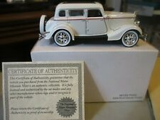 NATIONAL MOTOR MUSEUM MINT 1934 FORD DELUXE FORDOR MINT IN BOX