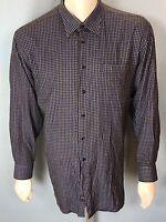 IKE Behar Long Sleeve Button Down Shirt I K E XL