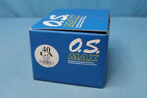 O.S. Max 40 LA Gas R/C Control Line Freeflight Airplane Engine NIB 13381