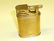 """Vintage pocket Liftarm Lighter """"Le véhicule à Essence"""" - briquet-Laiton-ESSENCE"""