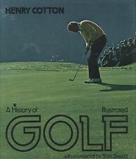 Henry Cotton Autographed Book - A History of Golf Illustrated JSA Authenticated