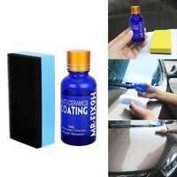9H Nano Ceramic Car Glass Coating Liquid Hydrophobic Anti Scratch Auto Car Care.