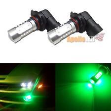 2pcs High Power Green 9005 HB3 COB Projector LED Bulb for Fog DRL Light