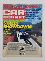 VTG Car Craft Magazine March 1977 Shelby GT 350 Plymouth Hemi Cuda LS-6 Camaro
