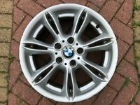 "GENUINE BMW Z4 E85 ROADSTER 17"" STYLE 103 SPARE ALLOY WHEEL & RFT TYRE 6759841"