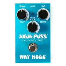 Way Huge Smalls Aqua-puss Analog Delay Guitar Effect Pedal - WM71