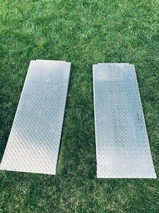"BandPack Lift 4 post 48"" Aluminum Approach Car Ramps"