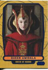 Star Wars Galactic Files Blue Parallel #12 Queen Amidala