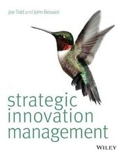 Strategic Innovation Management, Good Condition Book, Bessant, John, Tidd, Joe,