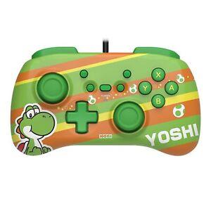 HORI Official Nintendo Switch HORIPAD Mini Wired Controller Pad - Yoshi