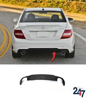 NEW MERCEDES BENZ W204 C-CLASS AMG 2011 - 2014 REAR BUMPER DIFFUSER SPORT PACK
