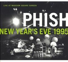 Live at Madison Square Garden New Year's Eve 1995 by Phish (CD, Dec-2005, 3 Disc