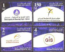 UAE 2008 ** Mi.919/22  Stadtverwaltung City Administration Ajman