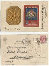 antica cartolina militare A ME LE GUARDIE 1914 GRANATIERI DI SARDEGNA 1914