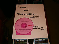 """Counterpoint..and more"" CD course for pedal steel guitar"