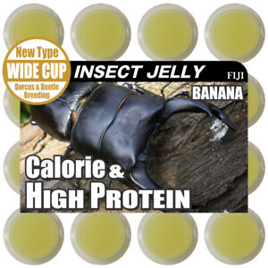 Stag/Beetles Insect Jelly Banana type Breeding Health Vitamin Cup Foods