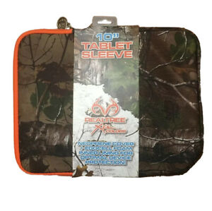 """10"""" Tablet Sleeve Realtree Camo Cover Protection Fits Most Google Ipad Samsung"""
