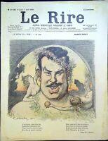 Le RIRE N° 283 du  7 avril 1900