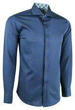 MENS CUTAWAY COLLAR STRETCH FABRIC FORMAL PARTY CASUAL DRESS SHIRT £18.99 (487)