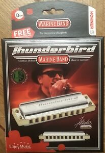 Hohner Marine Band Thunderbird In D Low