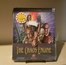 The Chaos Engine PC CD-ROM Game The Bitmap Brothers, Big Box PC, Rare Brand New