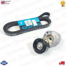 V-RIBBED DRIVE BELT TENSIONER + DAYCO BELT WITHOUT AIRCON FORD TRANSIT MK6 2.4