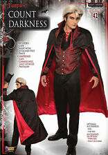 Count Darkness Dracula Vampire Adult Mens Costume Standard Size NEW