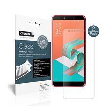 2x Asus Zenfone 5 Lite (ZC600KL) Protector de Pantalla Vidrio Flexible Mate