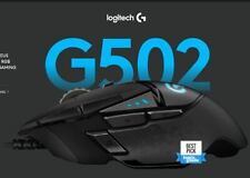 Logitech G502 HERO High Performance Tunable Wired Optical Gaming Mouse 16000 dpi