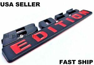 BOSS EDITION Black Fit All Cars & Truck CUSTOM EMBLEM Adition Addition  Auto 3D