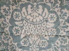 Set of two Pottery Barn Lucianna Medallion Euro Pillow Sham Blue euc