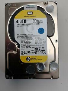 4TB WD RE Datacenter 4TB HDD WD40000FYYZ-01UL1B2 SATA 64MB Cache