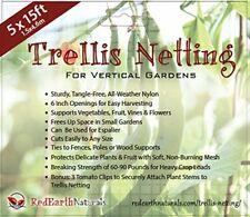 TRELLIS NETTING for SMART GARDENERS: Supports Tomatoes, Vegetables & Fruit to Gr