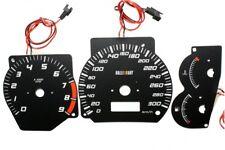 Mitsubishi Lancer EVO 5  EVO 6 glow gauge plasma dials tachoscheibe glow shift i