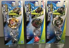 Lot Of 3 Assorted NEW SEALED Beyblade Burst Turbo SlingShock Single Packs