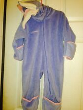 Columbia Baby Bunting Girl Size 24 Mo Blue Pink With Hood NEW