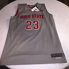 Vintage NEW Nike Elite Ohio State Buckeyes Basketball Jersey #23 David Lighty L